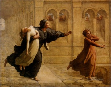 Jan Canvas - poeme de l ame 8cauchemar Anne Francois Louis Janmot
