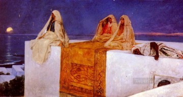 Les Nuits arabes Arabian Nights Jean Joseph Benjamin Constant Orientalist Oil Paintings