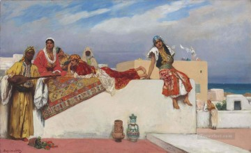 An Afternoon Idyll Jean Joseph Benjamin Constant Orientalist Oil Paintings