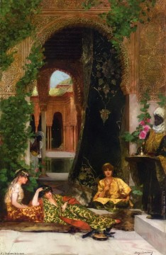 Harem Women Jean Joseph Benjamin Constant Orientalist Oil Paintings