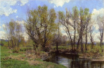 scenery Art Painting - Early Spring Near Sheffield Massachusetts scenery Hugh Bolton Jones