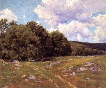 scenery Art Painting - Meadow Crossing scenery Hugh Bolton Jones