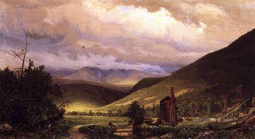 scenery Art Painting - Old Smelter scenery Hugh Bolton Jones