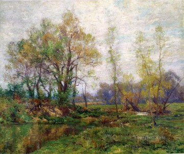 scenery Art Painting - Springtime scenery Hugh Bolton Jones