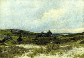 scenery Art Painting - The Dunes scenery Hugh Bolton Jones