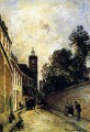 Rue De L Abbe De L Epee And The Church Of Saint James Johan Barthold Jongkind