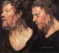 Studies of the Head of Abraham Grapheus Flemish Baroque Jacob Jordaens