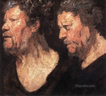 baroque - Studies of the Head of Abraham Grapheus Flemish Baroque Jacob Jordaens