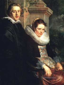 baroque - Portrait of a Young Married Couple Flemish Baroque Jacob Jordaens