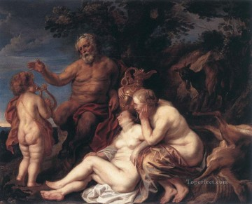 baroque - Education of Jupiter Flemish Baroque Jacob Jordaens