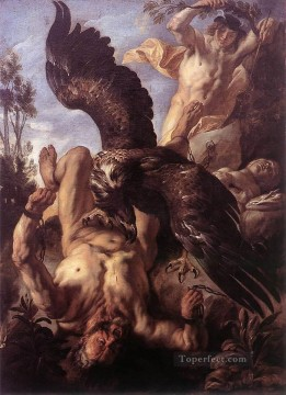 baroque - Prometheus Bound Flemish Baroque Jacob Jordaens