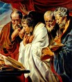 The Four Evangelists Flemish Baroque Jacob Jordaens