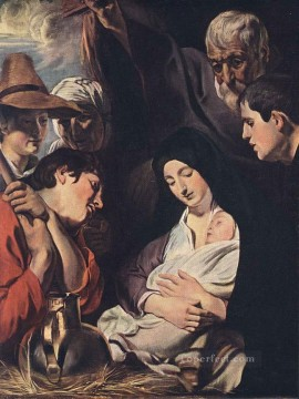 Adoration Art - Adoration of the Shepherds Flemish Baroque Jacob Jordaens