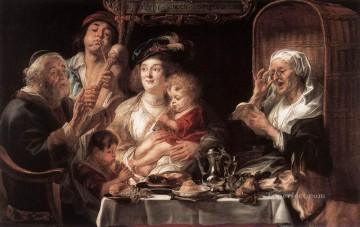 baroque - As the Old Sang the Young Play Pipes Flemish Baroque Jacob Jordaens