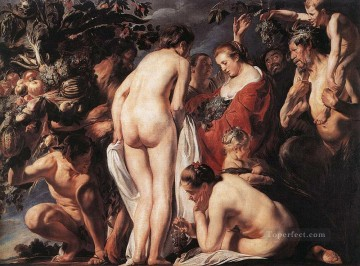 baroque - Allegory of Fertility2 Flemish Baroque Jacob Jordaens