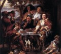 Eating Man Flemish Baroque Jacob Jordaens