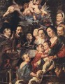 Self Portrait among Parents Brothers and Sisters Flemish Baroque Jacob Jordaens