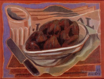 figs Juan Gris Oil Paintings