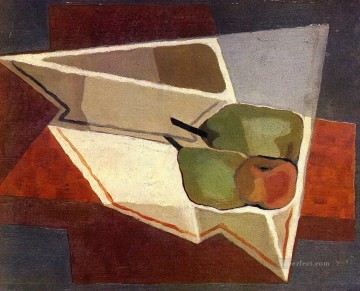 Juan Gris Painting - fruit with bowl 1926 Juan Gris