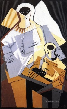 pierrot 1921 Juan Gris Oil Paintings