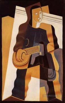pierrot 1922 Juan Gris Oil Paintings