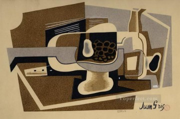 still life 1922 Juan Gris Oil Paintings