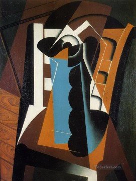 Chair Painting - still life on a chair 1917 Juan Gris