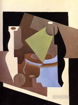 still life with lamp 1919 Juan Gris Oil Paintings