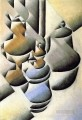 still life with oil lamp 1912 Juan Gris