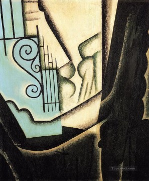 the garden 1916 Juan Gris Oil Paintings