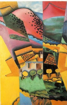 landscape Painting - landscape at ceret 1913 Juan Gris