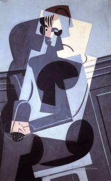 portrait of madame josette gris 1916 Juan Gris Oil Paintings