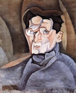 portrait of maurice raynal 1911 Juan Gris Oil Paintings