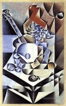 still life with flowers 1912 Juan Gris Oil Paintings