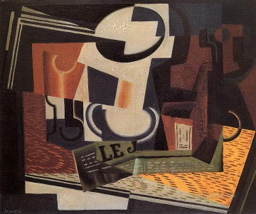 Juan Gris Painting - still life with fruit bowl 1918 Juan Gris