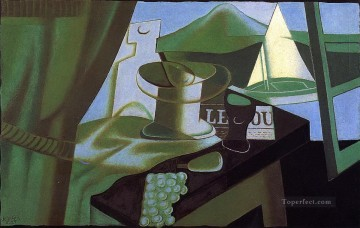 the bay 1921 Juan Gris Oil Paintings