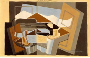 Juan Gris Painting - the mountain le canigou 1921 Juan Gris