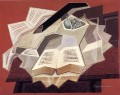 the open book 1925 1 Juan Gris