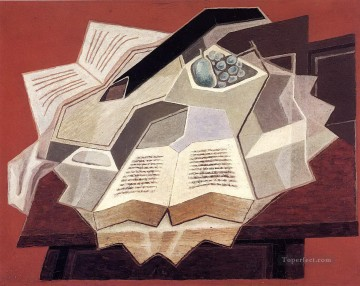 the open book 1925 1 Juan Gris Oil Paintings