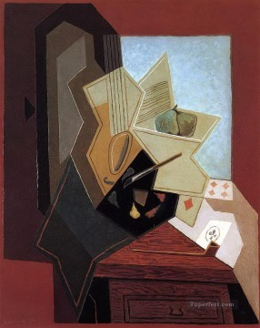 the painter s window 1925 Juan Gris Oil Paintings