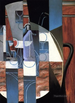 the siphon 1913 Juan Gris Oil Paintings