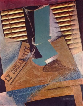 the sunblind 1914 Juan Gris Oil Paintings