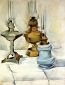 three lamps 1911 Juan Gris