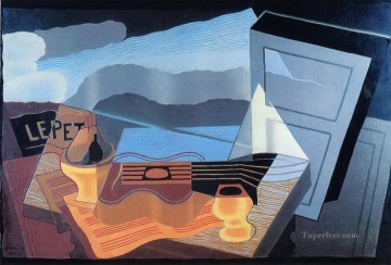 view across the bay 1921 Juan Gris Oil Paintings