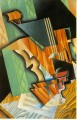 violin and glass 1915 Juan Gris