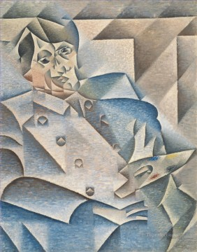 Portrait of Pablo Picasso Juan Gris Oil Paintings