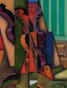 Juan Gris Painting - Violon and Guitar et guitare Juan Gris