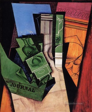 breakfast 1915 Juan Gris Oil Paintings