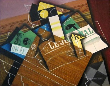 fantomas 1915 Juan Gris Oil Paintings
