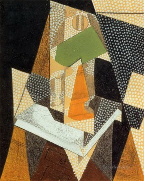 lamp 1916 Juan Gris Oil Paintings